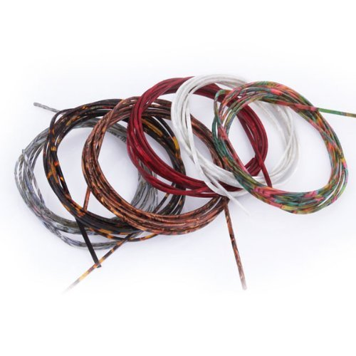 DN 1 Set Of 6 Multicolor Guitar Celluloid Bindings For Guitar Maker Or Luthier DN10100701