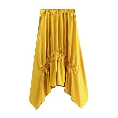 Vectry Faldas Largas Mujer Falda Larga Faldas Cortas Mujer Verano ...
