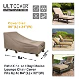 ULTCOVER Waterproof Patio Lounge Chair Cover