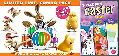 Animated Easter Holiday Specials 5-Disc Bundle - The First Easter Rabbit, Yogi the Eater Bear, The Easter Bunny is Comin' to Town & Hop Limited Combo Pack (Blu-ray/DVD/Digital) with Mini-Movie