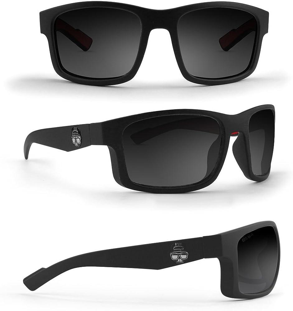 Magnet Lifestyle Motorcycle Glasses Black Smoke Epoch Adam Sandoval Rides ASR