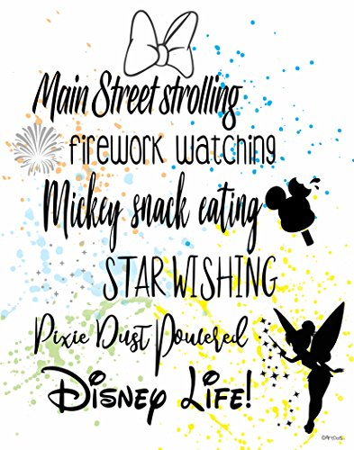 (ArtDash® Creative PopArt Print by Studio: DISNEY LIFE! Watercolor Splatter (8