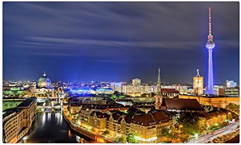 Berlín Alemania Casas Noche C * * * * Las Ciudades sitios de viajes postal Post tarjeta: Amazon.es: Oficina y papelería