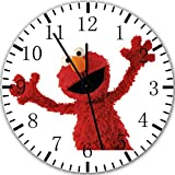 Elmo Sesame Street Frameless Borderless Wall Clock X31 Nice For Gift or Room Wall Decor