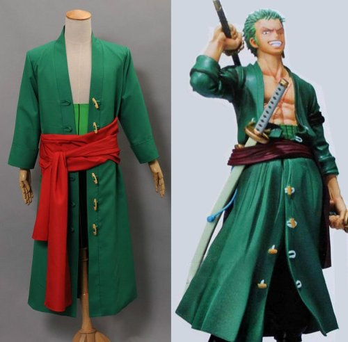 Onecos One Piece Roronoa Zoro Cosplay Costume-made