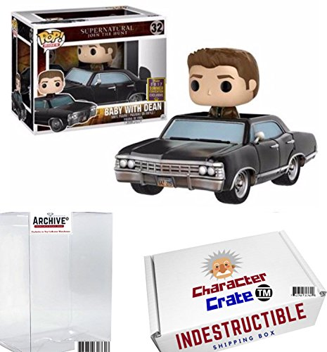 Funko Pop  Rides Supernatural Join The Hunt Baby With Dean  Limited Edition Summer Convention Exclusive  Concierge Collectors Bundle