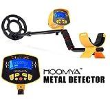 Hoomya 新世代MD-3010II 高感度金属探知機 調節可能なステム 大型液晶搭載 危険物紛失物検索 、 すべての金属の検出 深さ検出 トレジャーハンター
