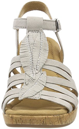 Comfort Sport Pulsera Mujer Kork Sandalia Taiga Beige Gabor Shoes para con 5qf7x6W