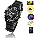 HD 1080P Hidden Watch Camera 16GB Wrist Smart Watch Camera HD 1080P Infrared Night Vision High-end Camera