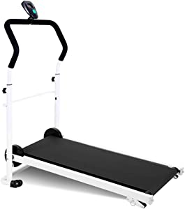 HSART Foldable Treadmill with Adjustable Incline Walking Jogging Exercise Machine with Display for Home Gym Office(Choose Colour)