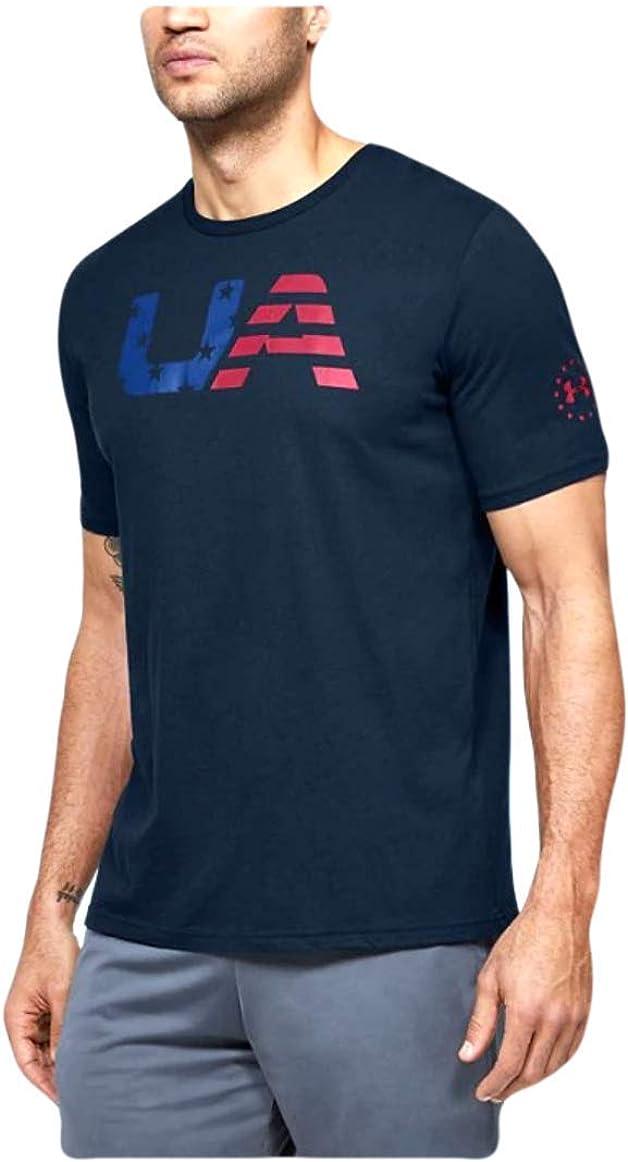 Under Armour Men's Freedom Big Flag Logo T-Shirt