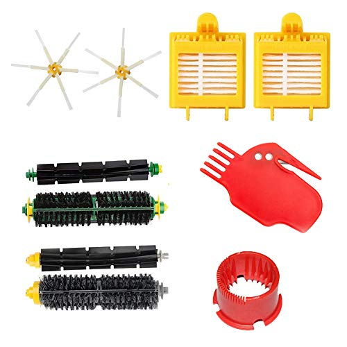 Colorful Housolution Parts Kit for iRobot Roomba 700 Series 13PCS iRobot Accessories Replenishment Kit Brushes Filters Cleaning Tools for iRobot Roomba 700 760 770 780 Series etc