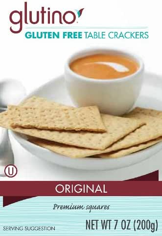 Crackers: Glutino Table Crackers