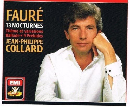 Faure: 13 Nocturnes Theme et Variations / Ballade / 9 Preludes By Jean-Philippe Collard ,,Gabriel Faure (Composer) ()