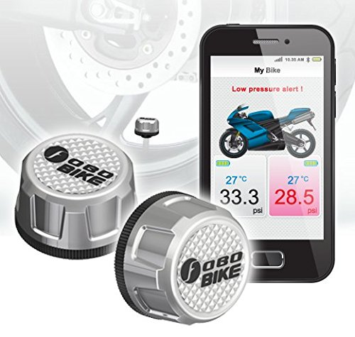 - FOBO Bike - Tire Pressure Monitoring System (Silver)