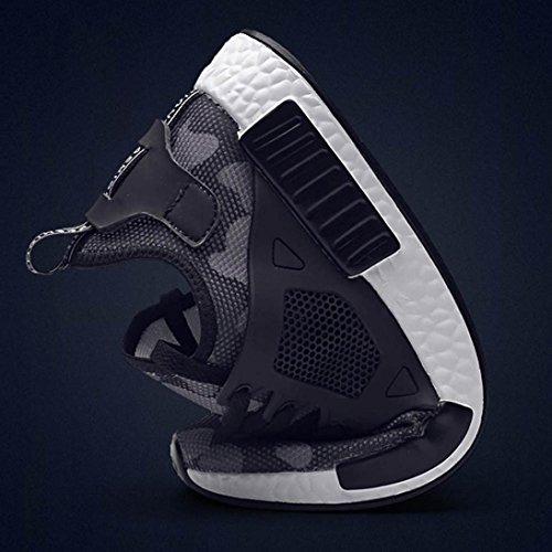 Breathable Beiläufige im Schuhe Herren Sneaker Laufender und LHWY Art Grau Sport Turnschuh Weise Freien XqvgWwa