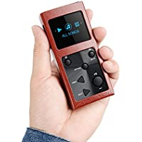 Xduoo X3 Loseless WMA FLAC APE 24 Bit DSD Portable HiFi Mini Music Player HD OLED Screen with Case