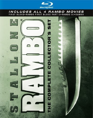 Rambo: The Complete Collector's Set (First Blood/Rambo: First Blood Part II/Rambo III/Rambo) (Blood Set)
