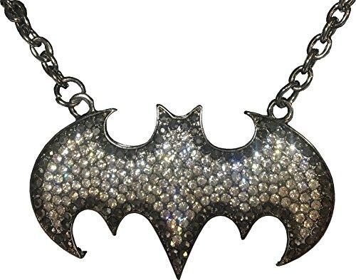 DC+Comics Products : Adult's Womens DC Comics Batman Batgirl Necklace Costume Accessory