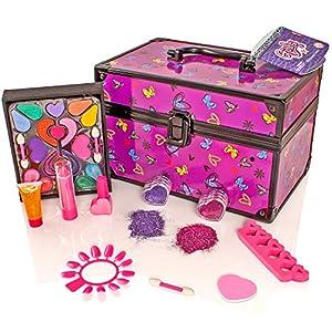 Girls Aluminium Vanity Case Ma...