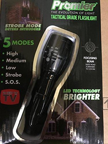 Tactical Grade Flashlight 5 Modes!