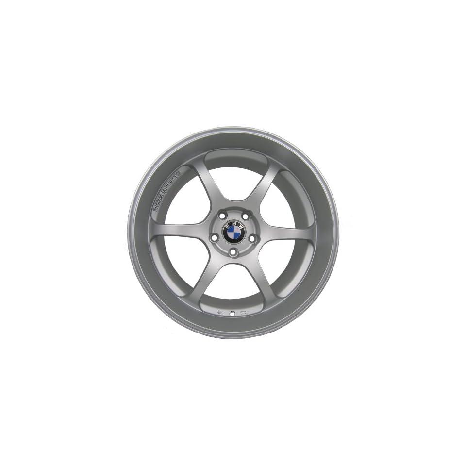 "19"" Eurotek Deep Dish Wheels Rims Set For BMW 525 528 535 550 Matte Silver (2007 2010) Automotive"