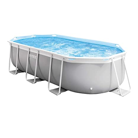 Intex 26794NP Piscina desmontable, con depuradora, 400 x 200 ...