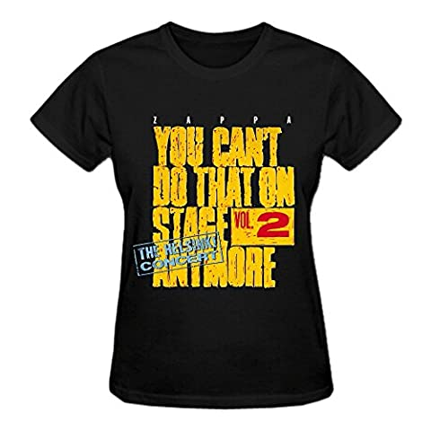 Frank Zappa You Cant Do That On Stage Anymore Volume Tee For Women Black (Brad Mehldau Sheet Music)