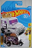 Hot Wheels 2018 50th Anniversary Fast Foodie Roller Toaster (Toaster Car) 69/365, Chrome
