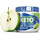 Exogen Ketones Supplement with Beta Hydroxybutyrate BHB Salts for The Ketogenic Diet – Keto Powder Drink to Help Reach Ketosis, Burn Fat, Reduce Stress, and Boost Energy (Sour Apple, 10 Servings)