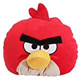 Angry Birds Childrens/Kids Bean Filled Character Cushion (One Size) (Red)