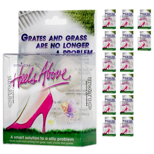15 Boxes Heels Above High Heel Protectors- Clear by Heels Above