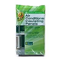 Paneles aislantes de espuma de aire acondicionado marca Duck, 18 pulgadas x 9 pulgadas x 7/8 pulgadas cada uno, 1286294