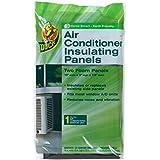 Duck Brand Air Conditioner Foam Insulating Panels, 18-Inch x 9-Inch x 7/8-Inch Each, 1286294