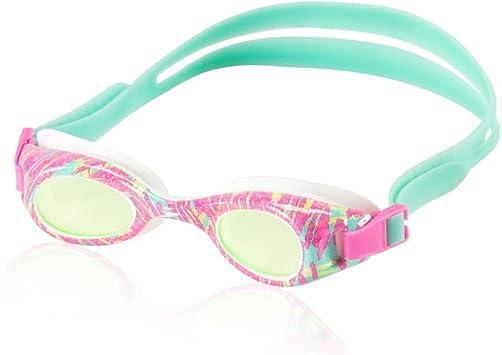 Speedo Kids Glide Print Goggle - Pink/Green