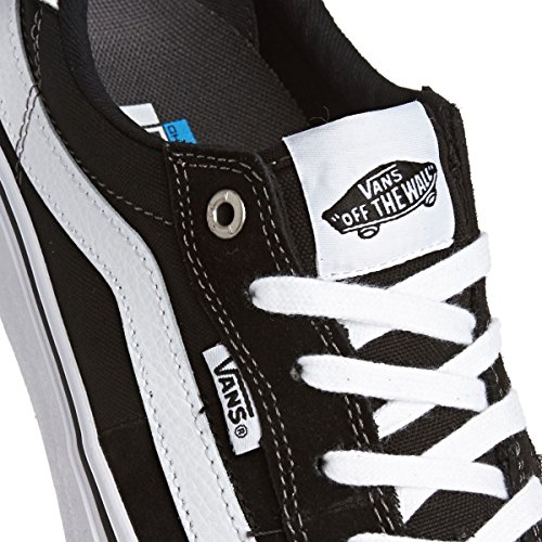 112 Vans White Shoes Skateboarding Black Men's Pro Style 1HSHwq5a