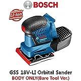 [BOSCH]GSS 18V-LI Professional Orbital Sander(Bare Tool Ver.)BODY ONLY- FREE EMS ~ITEM #GH8 3H-J3/G8325303