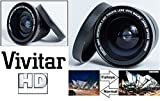 Super Wide Hi-Def Fisheye Lens For Sony Alpha A6300 ILCE-6300 A6500 ILCE-6500 (40.5mm compatible)