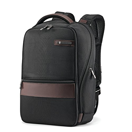 (Samsonite Komni Small Backpack, Black/Brown, One Size)