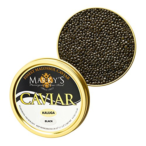 Kaluga Hybrid Black Caviar, Huso Dauricus, River Beluga -...