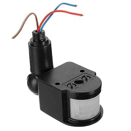 Amazon.com: Mochiglory LED Luz de Seguridad AC 90V-220V ...
