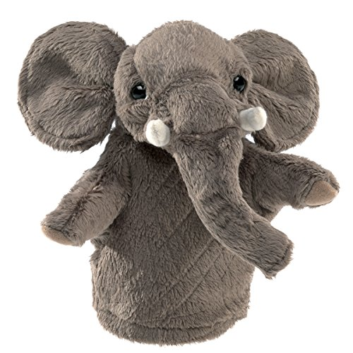 Folkmanis Little Elephant Hand Puppet (Folkmanis Cat Hand Puppet)