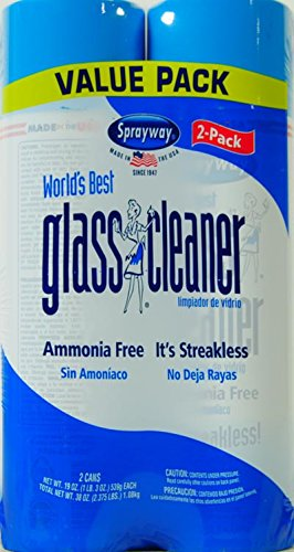 Sprayway World's Best Glass Cleaner, 2 ct, 19 oz