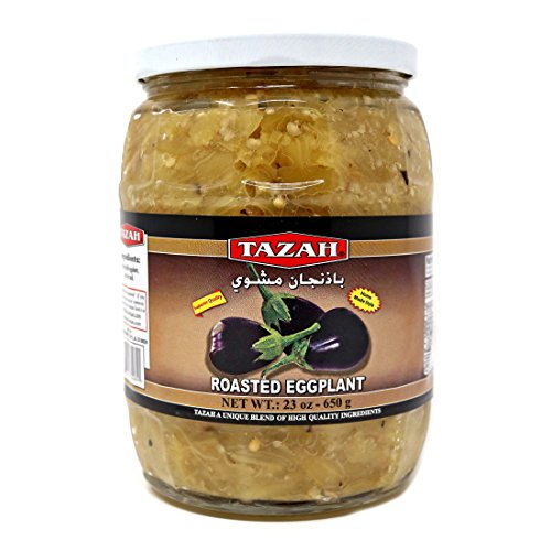 Tazah Roasted Eggplant 23 Oz / 650 Gr