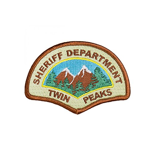 Sheriffs Department Patch - Twin Peaks Sheriff Department Iron On Police Patch