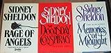 Lot 3 Sidney Sheldon Hardback Books Book Club (Rage of Angels ~ Memories of Midnight ~ the Doomsday Conspiracy )