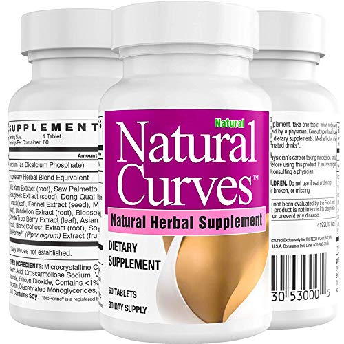 Breast Enhancement Pills Supplement by Natural Curves Biotech | Breast Enlargement |Saw Palmetto