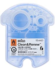 Braun Clean and Renew 4 Pack, Cartridge, Refill, Replacement...