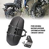Motorcycle Accessories big size Rear Fender Mudguards For Honda NC700 CN750X CN750D NC750D CB1300 CB400