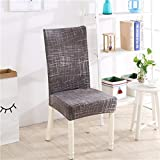 Spandex Elastic Butterfly Printing Chair Protector Slipcover Kitchen Dining Chair Cover Removable Dustproof Decorative Seat Case 21 Universal